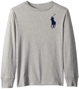 Polo Ralph Lauren Cotton Long Sleeve T-Shirt Boy's T Shirt