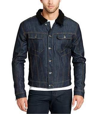 William Rast Men's Erwin Sherpa Denim Jacket