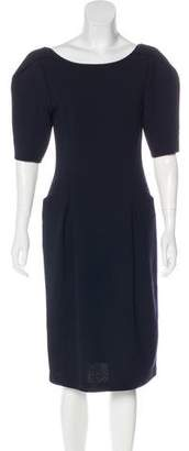 Nina Ricci Wool Sheath Dress