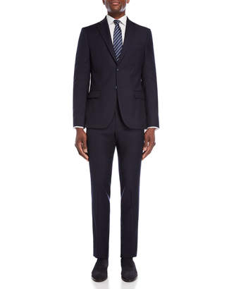John Varvatos Two-Piece Solid Navy Suit