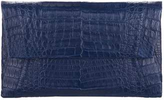Nancy Gonzalez Crocodile Envelope Clutch