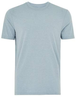 Topman Mens Dusty Blue Marl T-Shirt