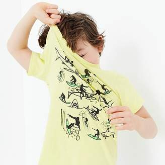 J.Crew Boys' surfing with sharks T-shirt