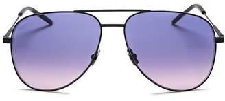Saint Laurent Unisex Aviator Sunglasses, 59mm