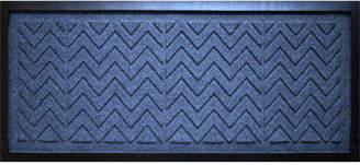 "Bungalow Flooring Water Guard Chevron 15"" x 36"" Boot Tray"