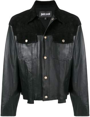 Just Cavalli slim-fit biker jacket