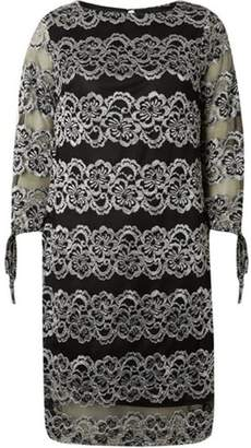 Dorothy Perkins Womens **Lily & Franc Black Lace Shift Dress