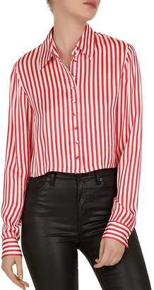 The Kooples Voile Rouge Striped Shirt