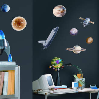 Room Mates Studio Designs 24 Piece Space Travel Wall Decal