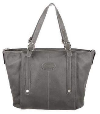 Tod's Grained Leather Satchel