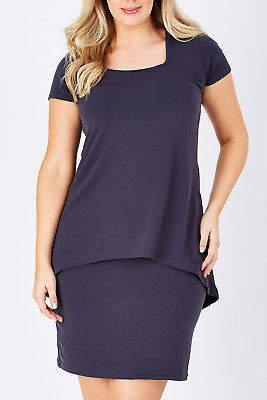 NEW bird by design Womens Short Dresses The Short Sleeve Rita Dress