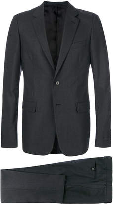 Prada embroidered micro pinstripe suit