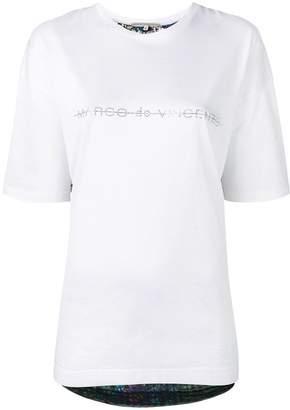 Marco De Vincenzo embellished back T-shirt
