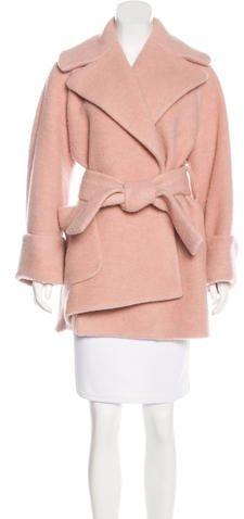 Carven Carven Short Wool Coat