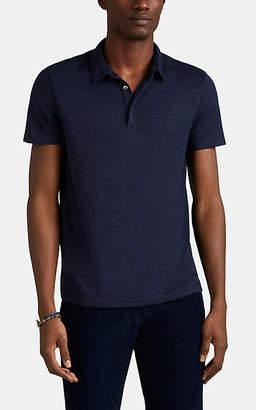 Theory Men's Slub Jersey Polo Shirt - Dk. Blue