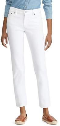 Ralph Lauren Straight Leg Jeans in White