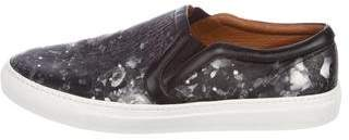 Givenchy Printed Leather Sneakers