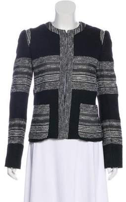 L'Agence Bouclé Long Sleeve Jacket