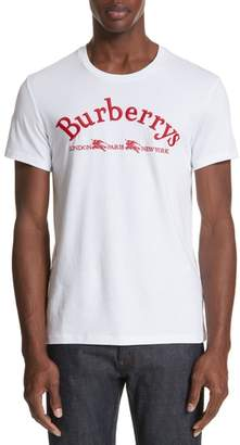 Burberry Pairi City Logo T-Shirt