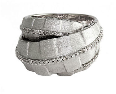 EFFY Balissima Sterling Silver & Diamond Pavé Ring