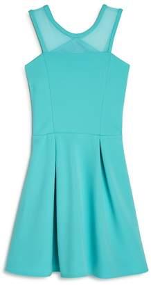 Sally Miller Girls' Carly Pleated Cutout Dress - Big Kid