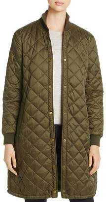 Barbour Ebbertson Long Quilted Coat - 100% Exclusive $279 thestylecure.com
