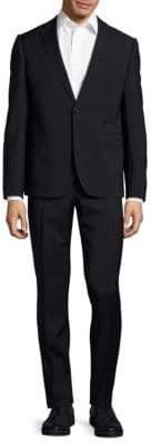 Armani Collezioni Notch-Lapel Wool Suit