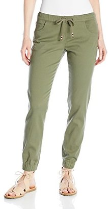 Element Junior's Julia Woven Jogger Pant $49.95 thestylecure.com