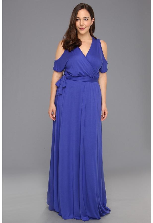 Rachel Pally Plus - Plus Size White Label Farris Dress (White) - Apparel