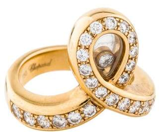 Chopard 18K Happy Diamonds Ring