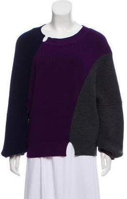 J.W.Anderson Merino Wool Colorblock Top
