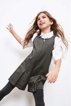 Next Girls Black Tassel Loafers (Older)