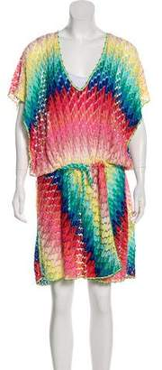 Missoni Mare Short Sleeve Knee-Length Dress