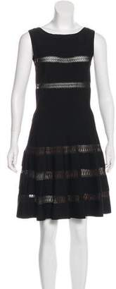 Alaia Sleeveless Fit & Flare Dress