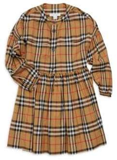 Burberry Little Girl's& Girl's Marny Cotton Check Dress