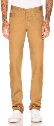Naked & Famous Denim Weird Guy Selvedge Chino in Tan | FWRD