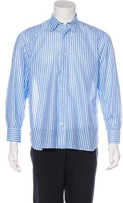 Luciano Barbera Striped Button-Up Shirt