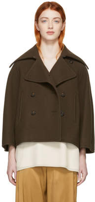 Chloé Brown Wool Jacket