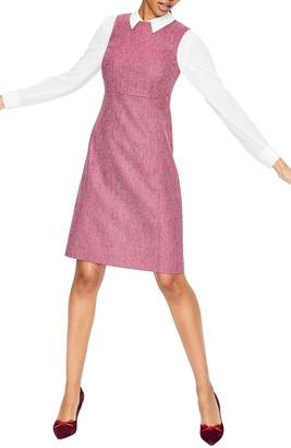 Boden Rosie Tweed Sheath Dress