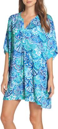 Lilly Pulitzer R) Leland Cover-Up Dress