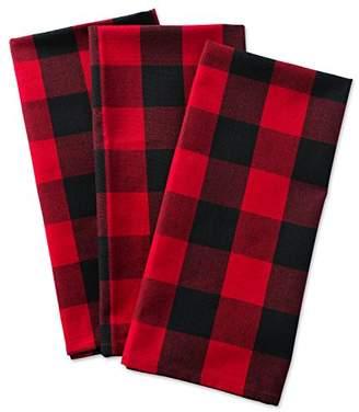 Buffalo David Bitton DII Cotton Check Plaid Dish Towels