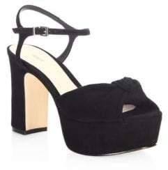 Schutz Thalyta Suede Sandals