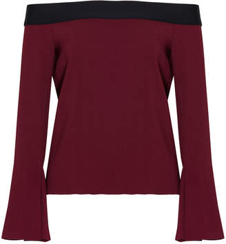 Roland Mouret Heaney Off-The-Shoulder Top