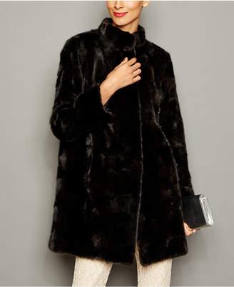 6b615c92725 The Fur Vault Black Women s Coats - ShopStyle