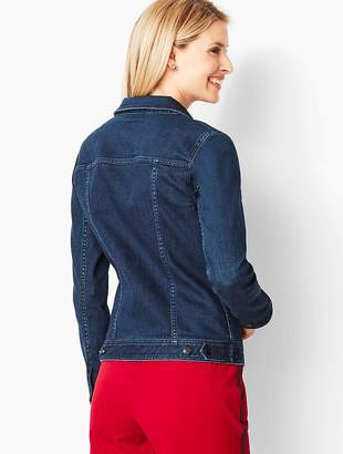 Talbots Novelty Jean Jacket - NYC Overdye Wash