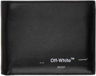 Off-White Black Logo Bifold Wallet