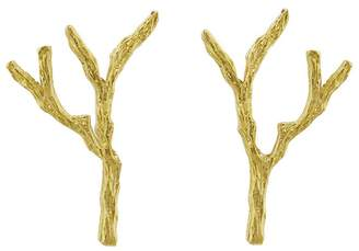 Cathy Waterman Tree Branch Stud Earrings
