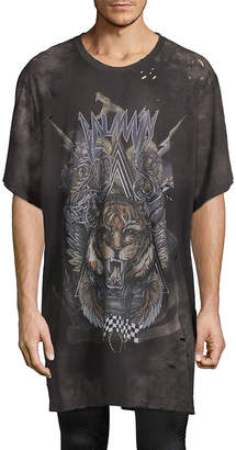 Balmain Graphic Oversized T-Shirt