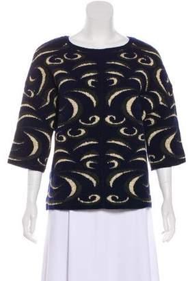 Diane von Furstenberg Patterned Knit Sweater