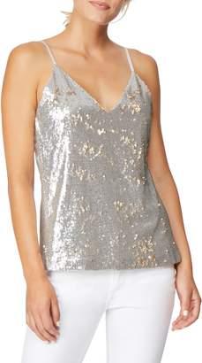 Habitual Mixed Media Reversible Sequin Camisole